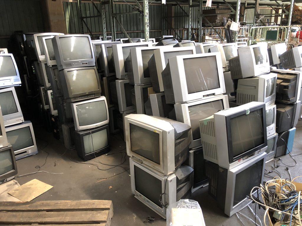 ブラウン管テレビ回収