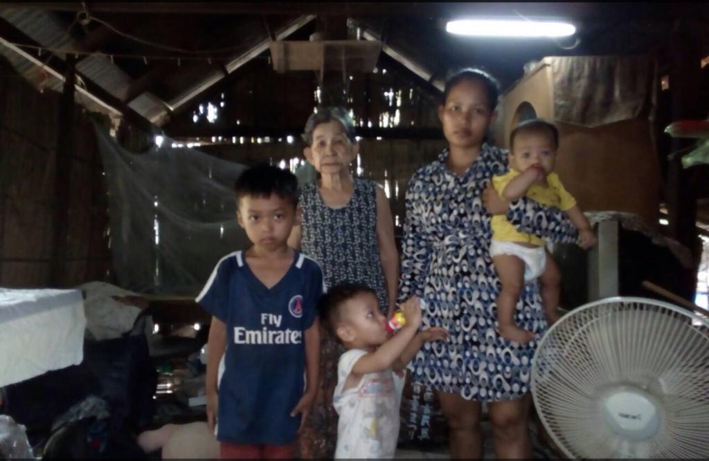 カンボジア 田舎 支援