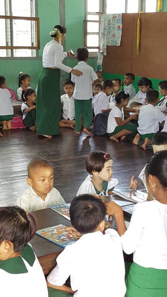 ミャンマー 不用品 寄付