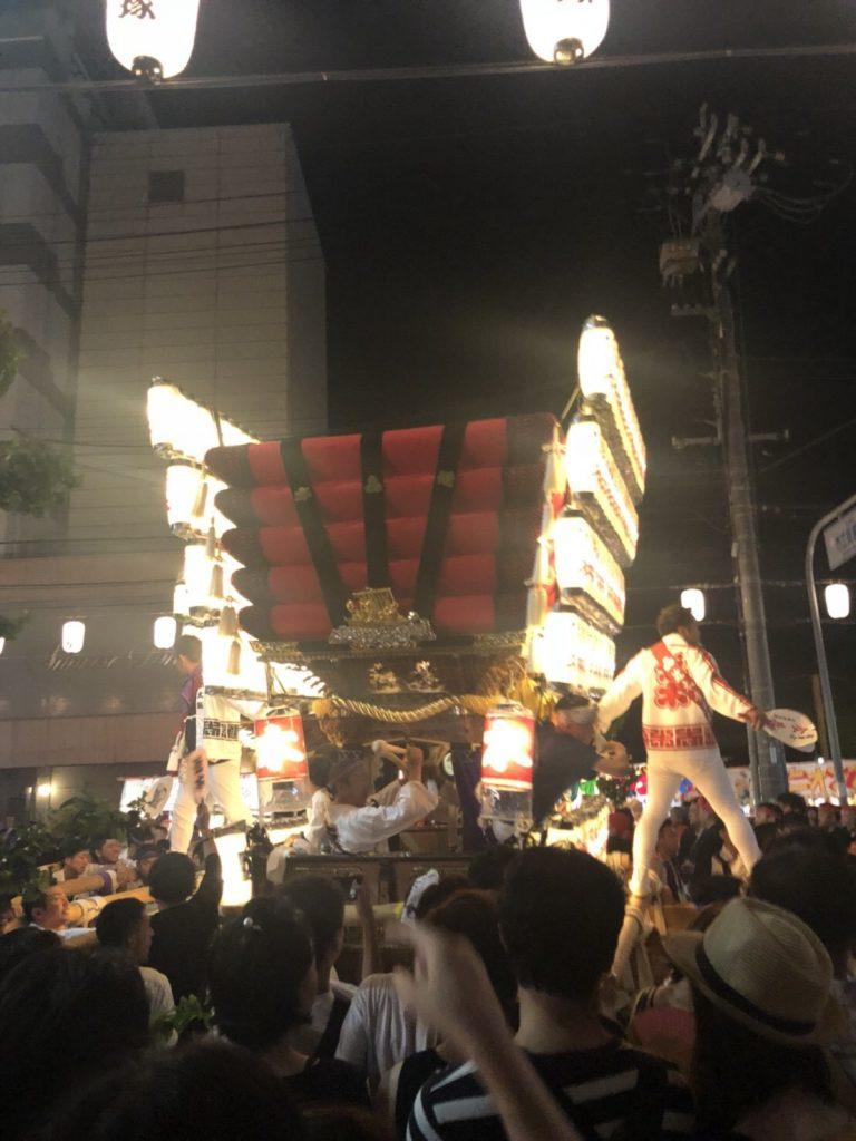 貝塚太鼓台祭り
