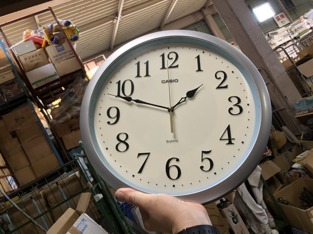 時計 寄付