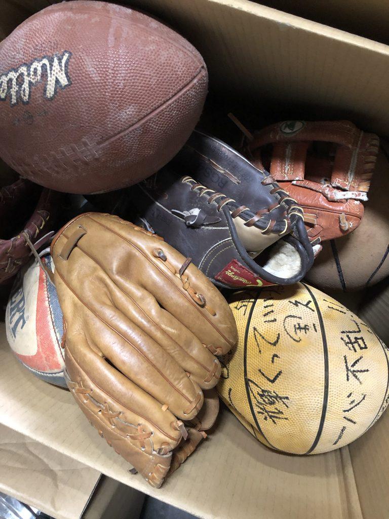 野球道具 寄付