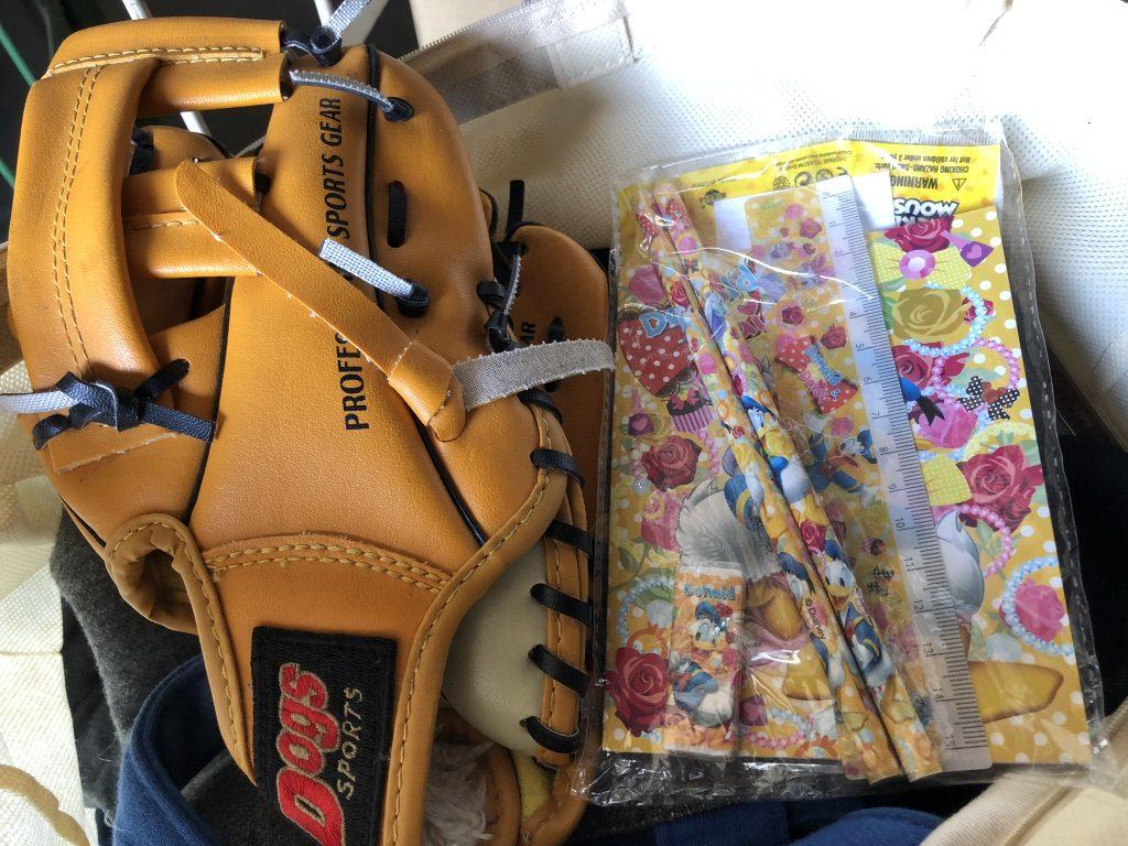 野球 寄付