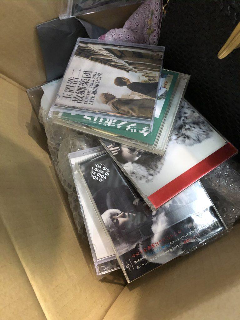 CD 寄付
