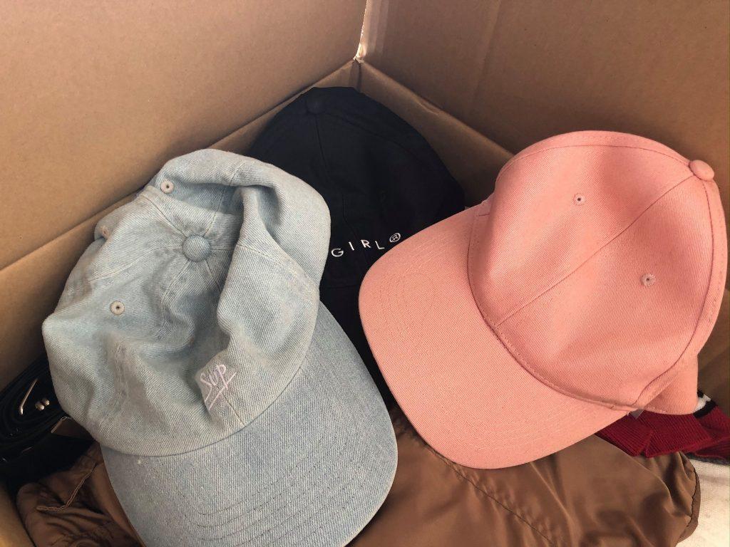 帽子 寄付