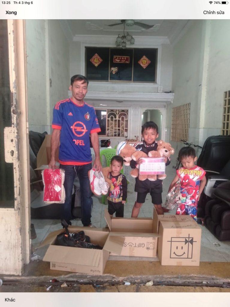 Cambodia donation