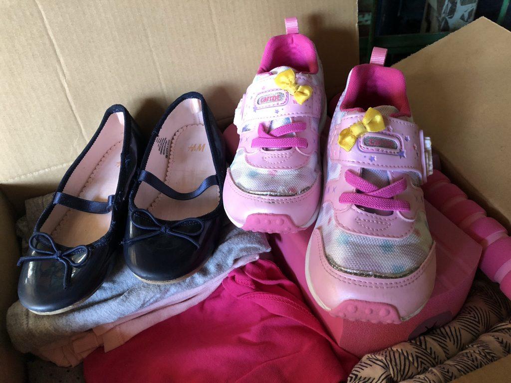 子供 靴 寄付