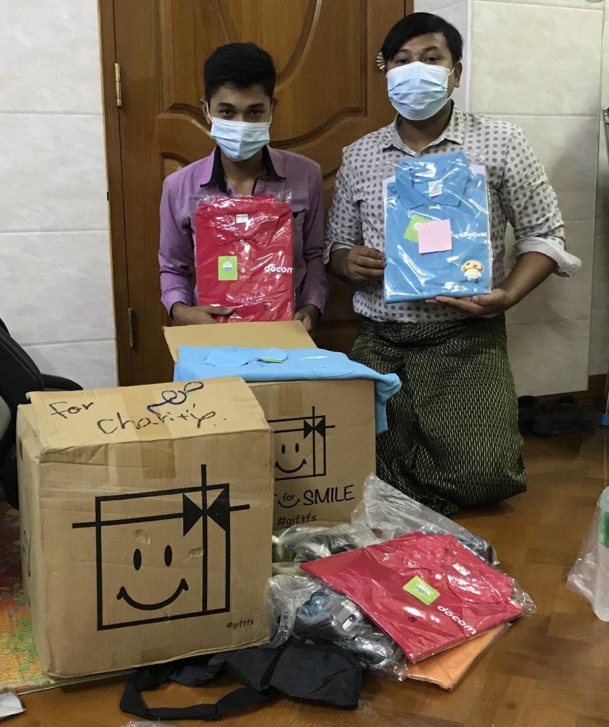 ミャンマー 支援 大阪