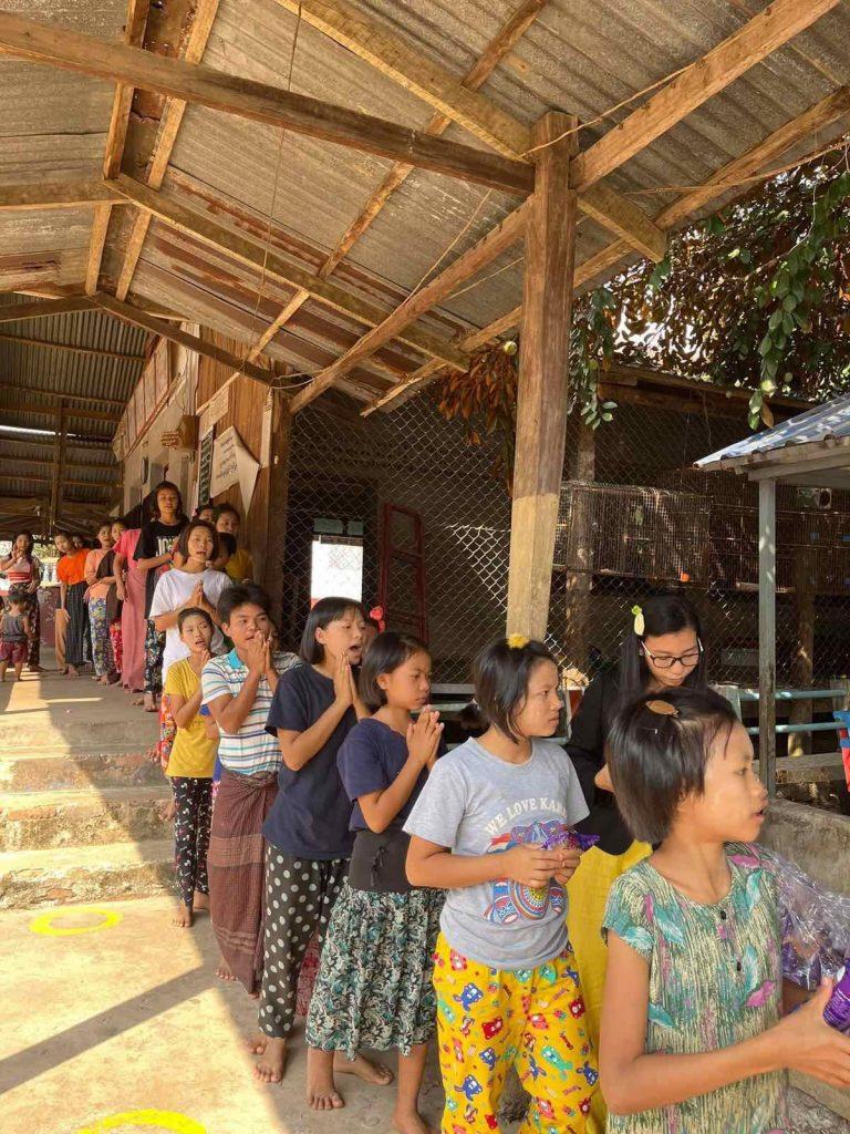 Myanmar 支援